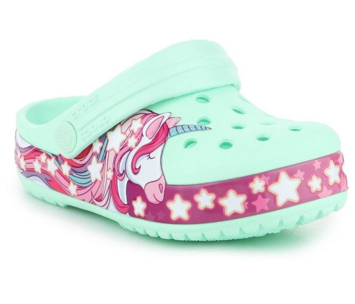 Klompa Crocs crocband neo mint za djevojcice