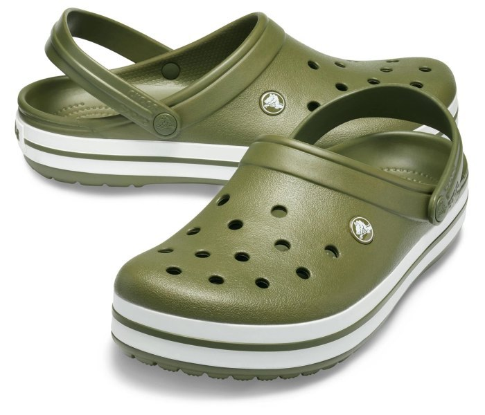 Crocs klompe classic maslinasta za muskarca