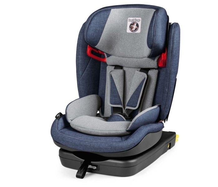 Sjediste za auto viaggio 1-2-3 via urban denim