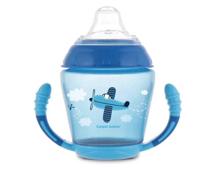 Solja za bebe plava 200ml,9mj+