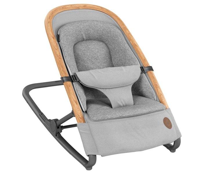 Ležaljka za bebe Kori essential grey