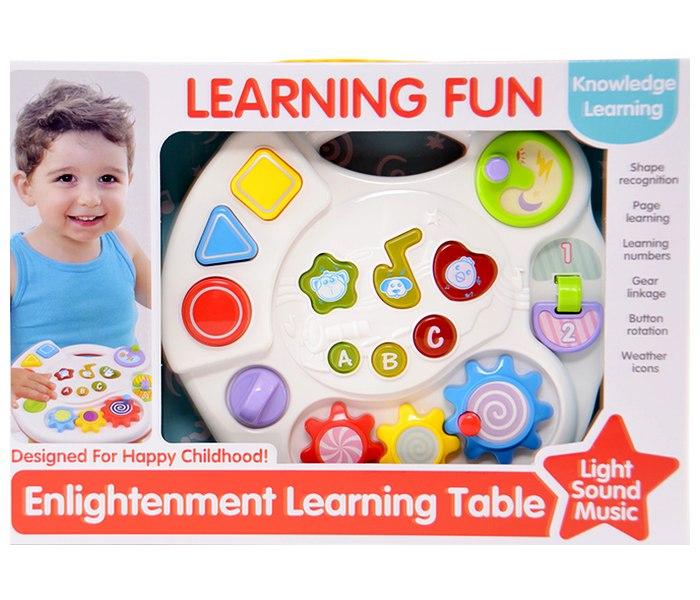 Igracka baby interaktivni sto za igru sa svjetlom i zvukom