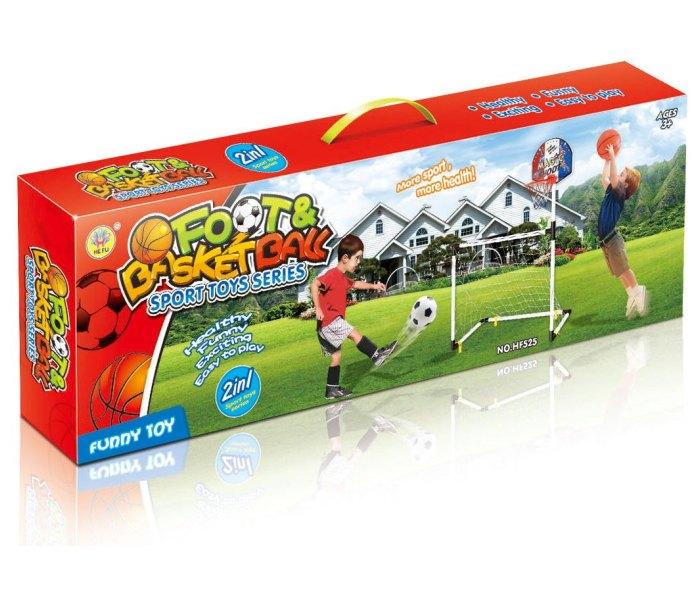 Igracka sportski set 2u1 sa ukljucene dvije lopte