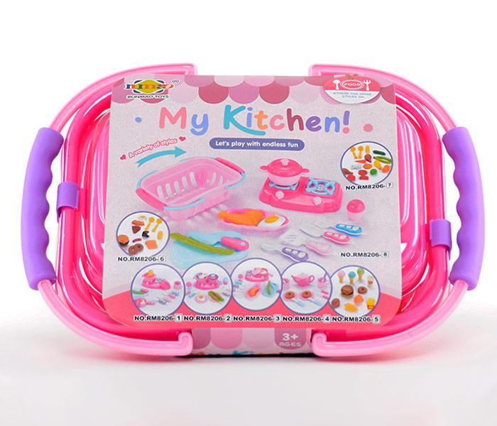 Igracka kuhinjska korpa sa dodacima