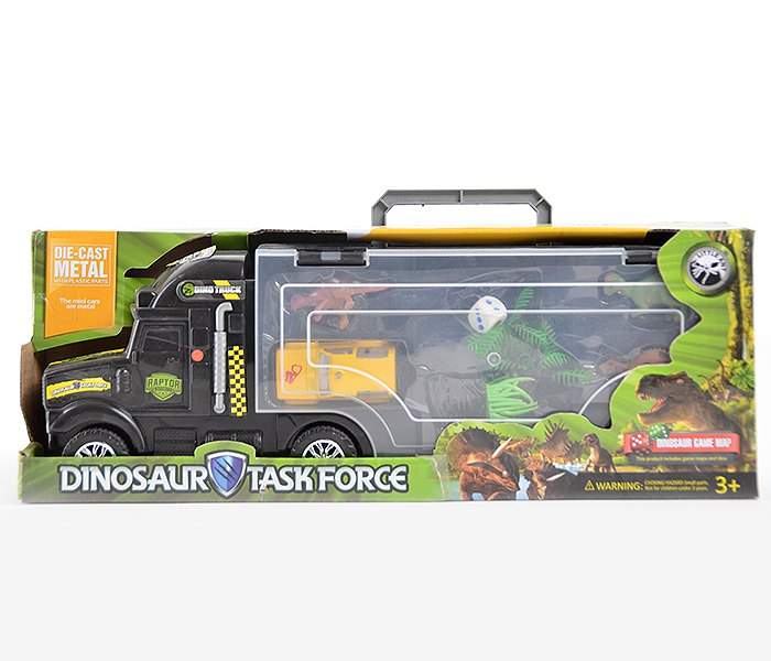 Igracka kamion set sa dodacima iz svijeta dinosaurusa