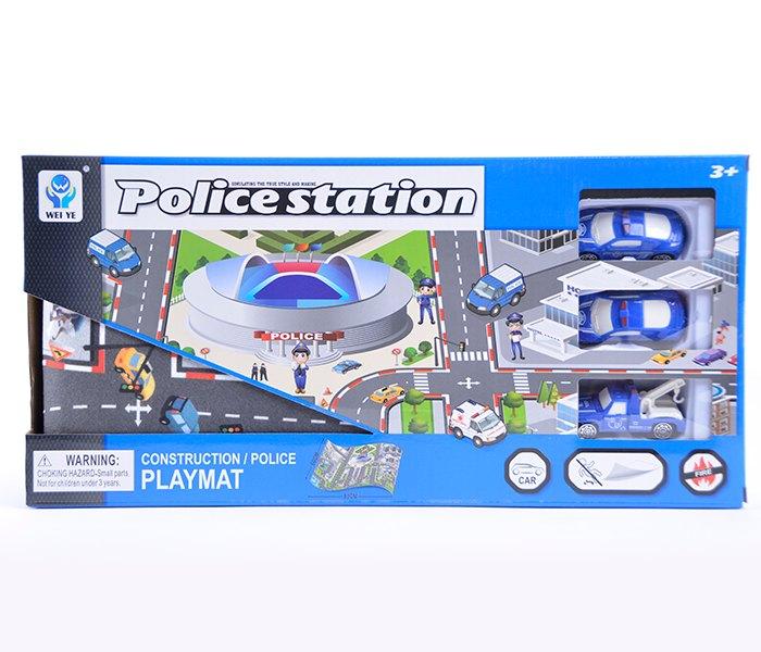 Igracka policijska stanica sa tepih stazom