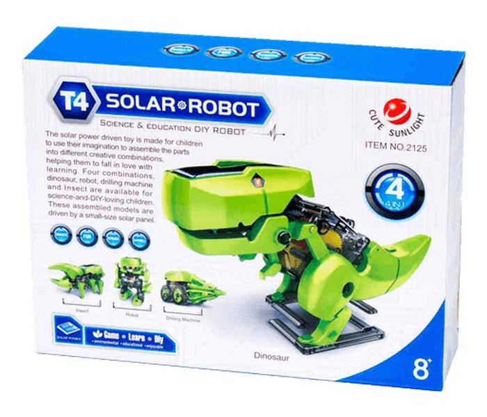 Igracka solarni robot