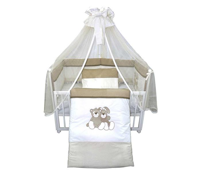 Bebi posteljina M i Z krem