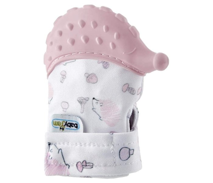 rukavice za bebe Baby Jem pink