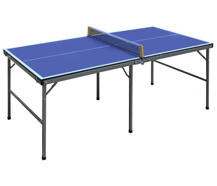Sto za stoni tenis za djecu dvodijelni plavi