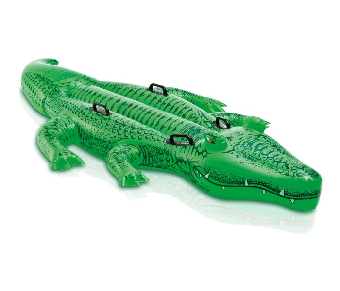 Igracka krokodil na naduvavanje 203x114cm.