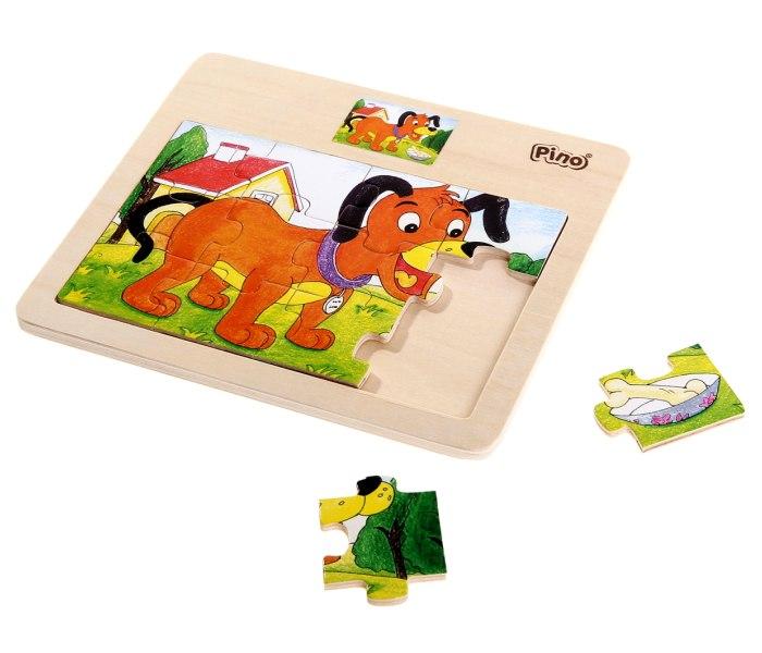 Pino puzzle - konjic/kuca/vozi