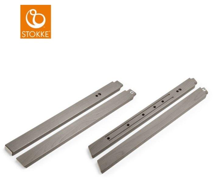 Stokke steps legs storm grey