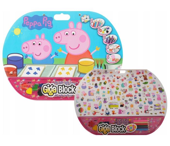 Igracka As company Giga block 5 u 1 Pepa