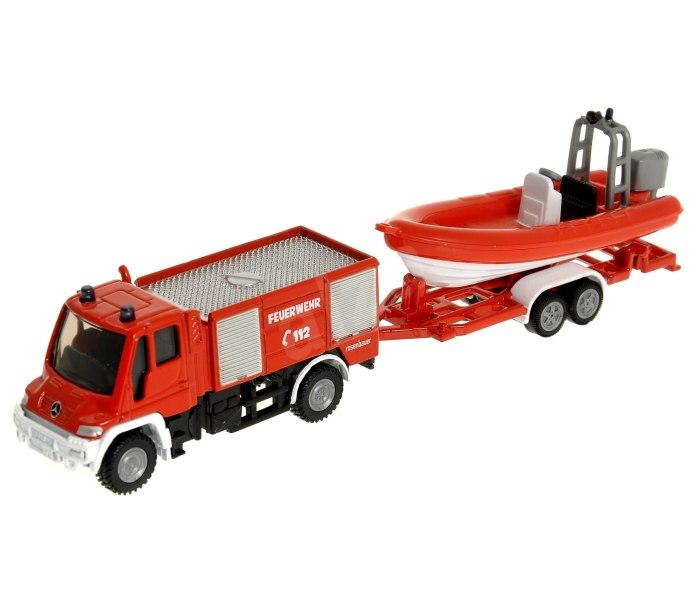 Vatrogasno vozilo sa brodom