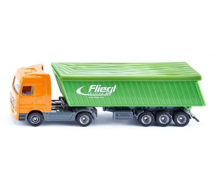 Kamion sa prikolicom i krovom