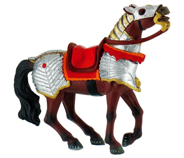 Figura Bullyland battle horse red