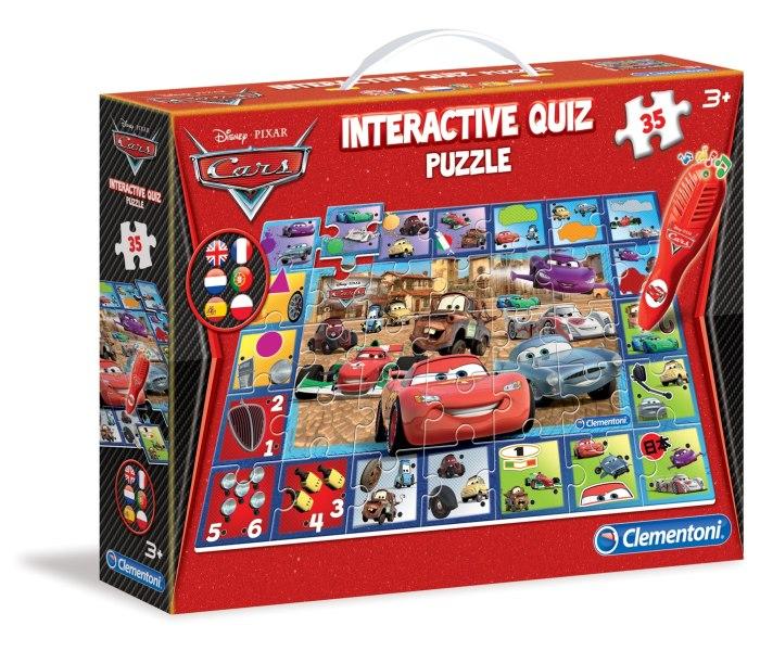 Interaktivni kviz puzzle cars 2