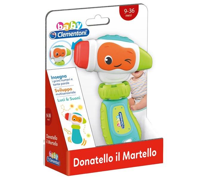 Igracka Clementoni za bebe - interaktivni cekic