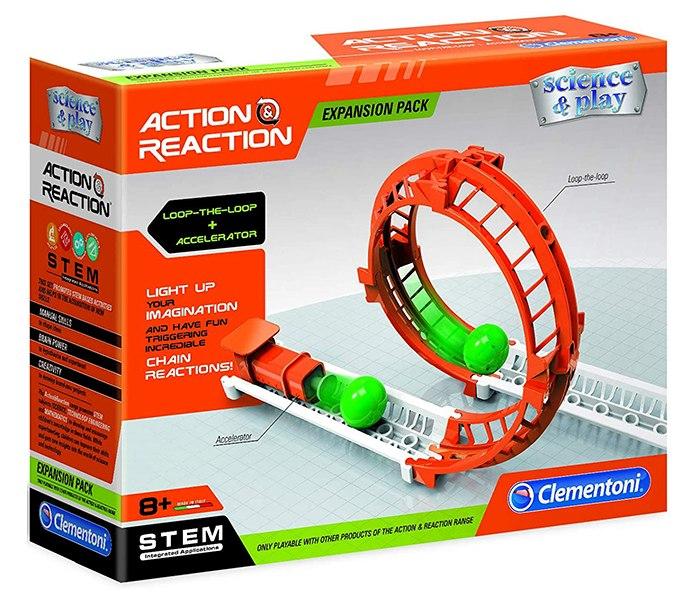 Igracka Clementoni akcija reakcija loop the loop