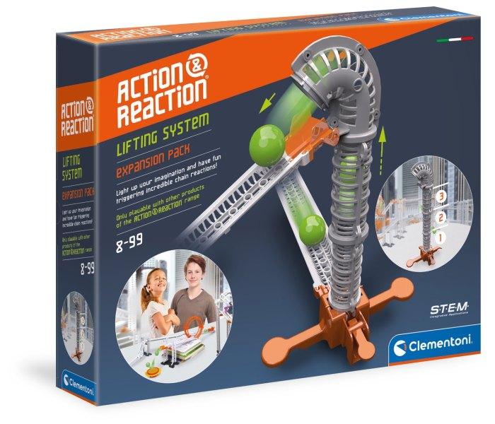 Igračka Clementoni Akcija Reakcija, lifting system