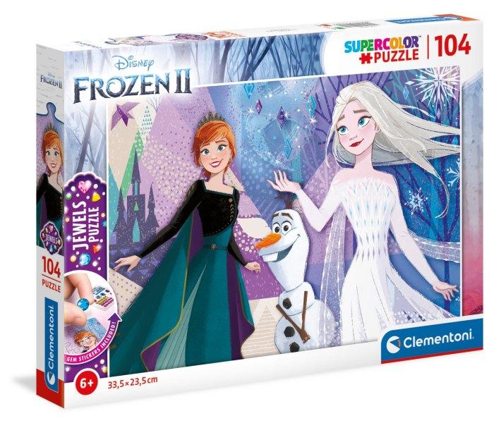 Igračka Clementoni Puzle 104 kom. Frozen 2