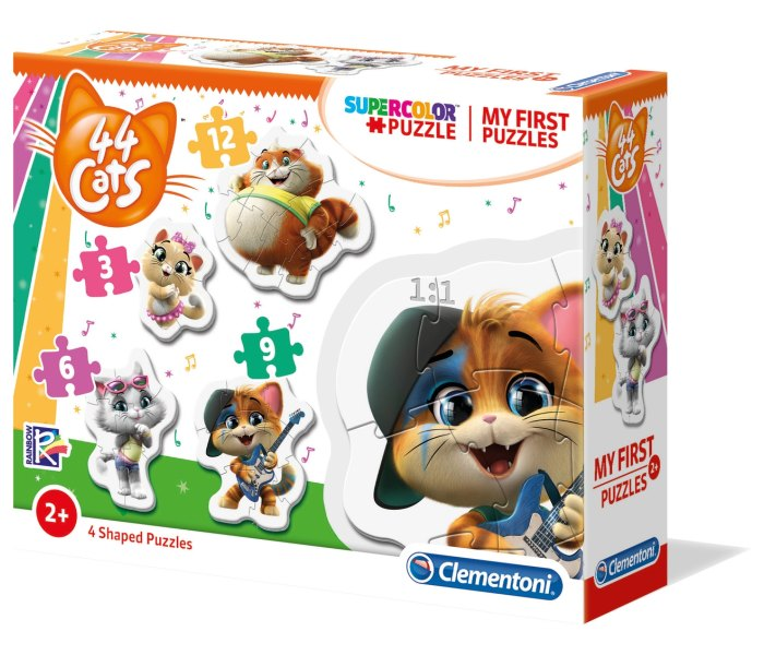 Igračka Clementoni, moje prve puzle, Cats 44