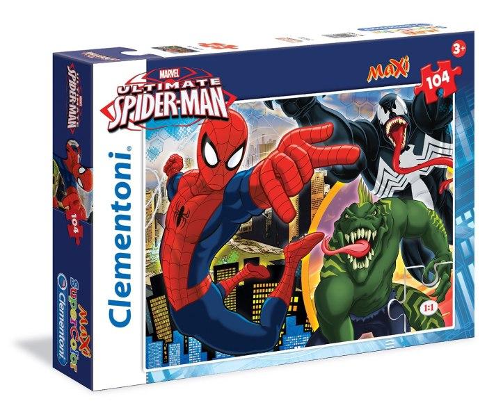 Puzle 104 kom. maxi ultimate spiderman