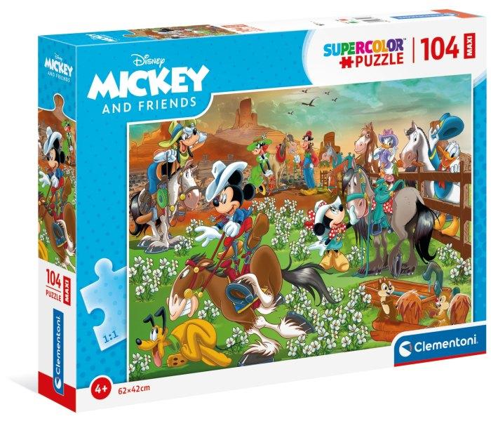 Igračka puzzle Clementoni 104 kom Maxi Mickey and Friends