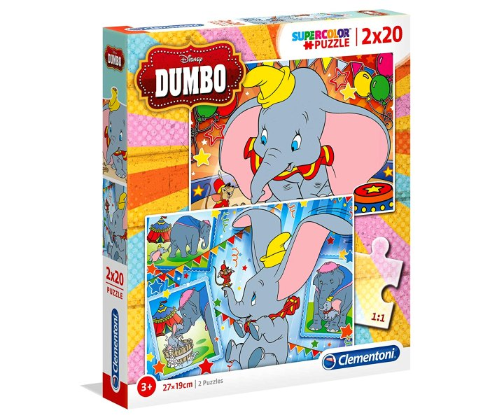 Puzle 2x20 Dumbo 2019