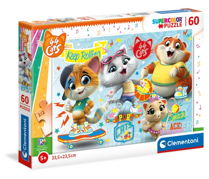 Igračka Clementoni Puzzle 60kom. 44 Cats