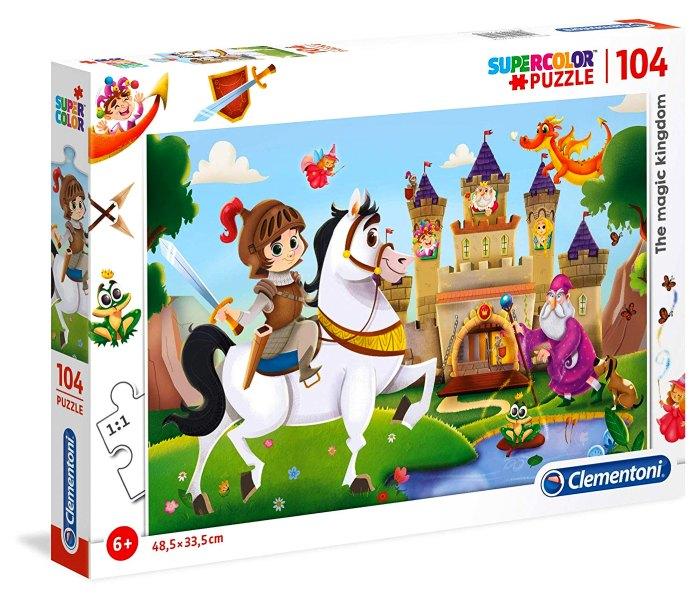 Puzle 104 I the magic kingdom