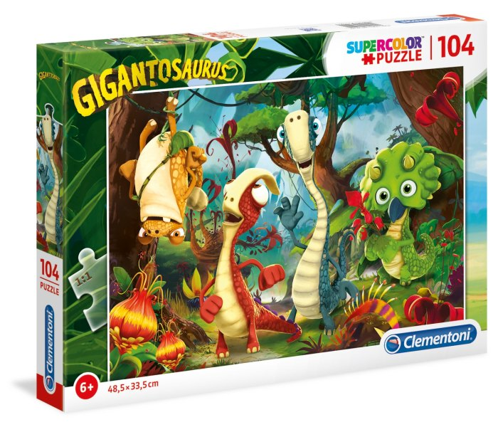 Igračka Clementoni Puzle 104 kom.gigantosaurus