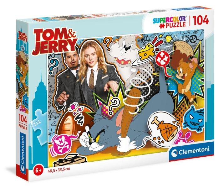 Igračka Clementoni Puzle 104 kom. Tom & Jerry