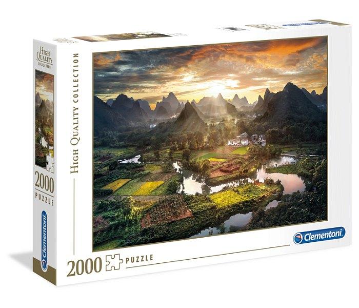 Igračka Clementoni puzle 2000 kom., Pogled na Kinu