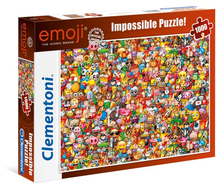 Igračka Clementoni puzle 1000 kom., Emoji