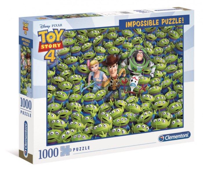 Igračka Clementoni puzle 1000, impossible toy story