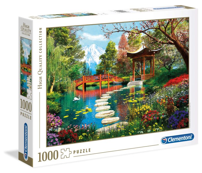Igračka Clementoni puzle 1000 garden of Fuji