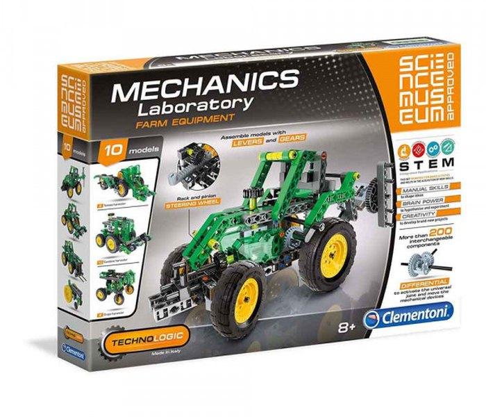 Igračka Clementoni science, Mehanička laboratorija,traktor