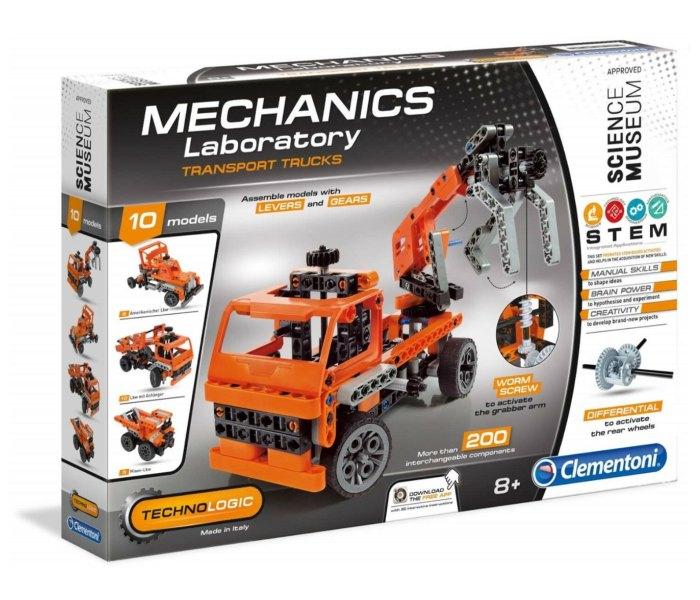 Igračka Clementoni science, Mehanička laobratorija, kamion