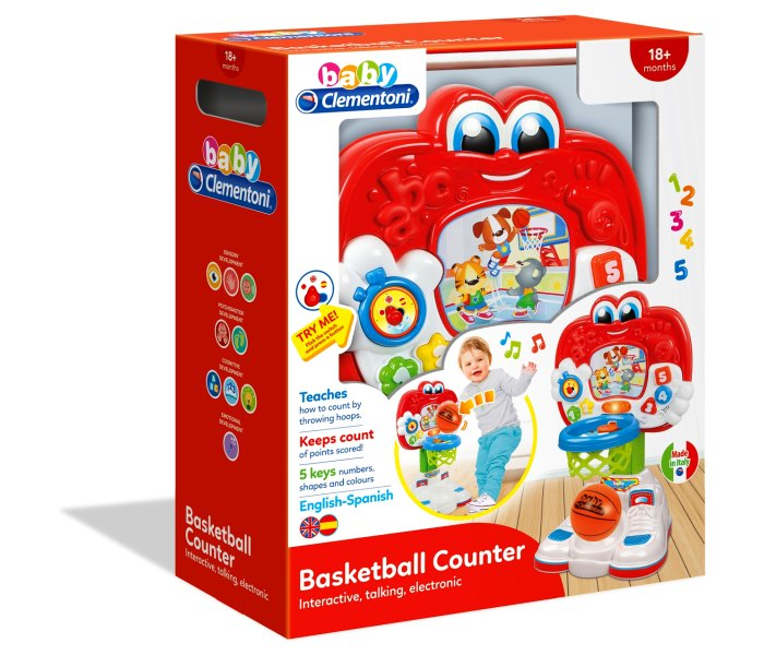 Baby clementoni  basketball set
