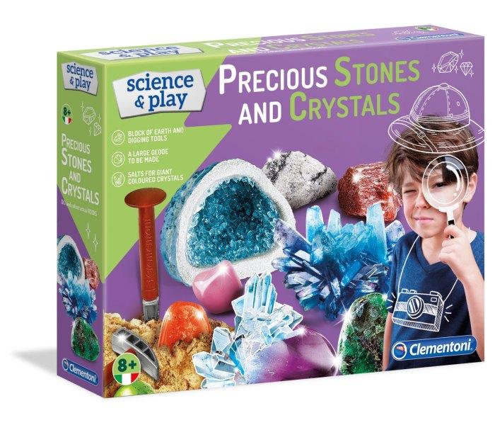 Igracka Clementoni science - drago kamenje i kristali
