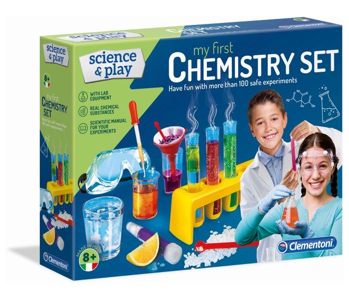 Igracka Clementoni Science Mehanička laboratorija- hemija