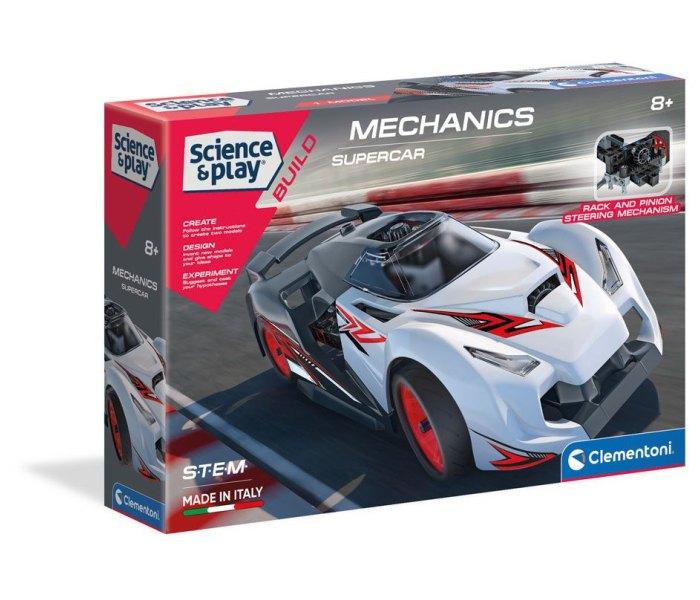 Igračka Clementoni science, Mehanička laboratorija,auto trkačko