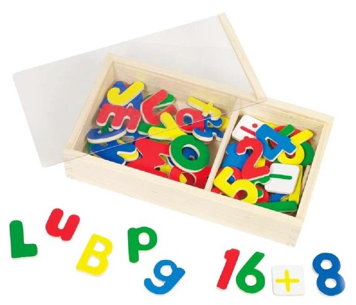 Magneti  alfabet i brojevi