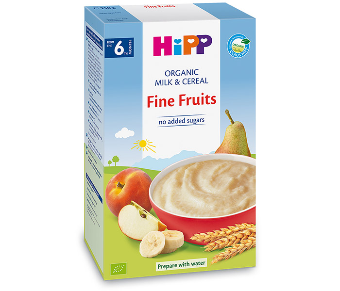 Kašica instant mliječna - fino voće 250gr 6m