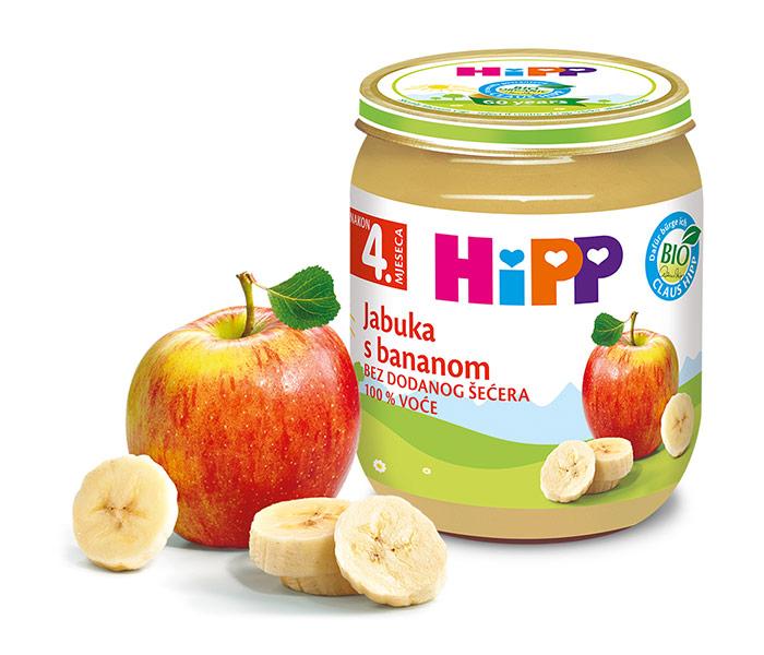 Kašica voćna - jabuka i banana 125gr
