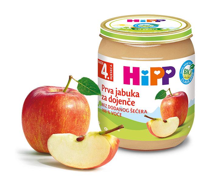 Kašica voćna - jabuka za dojenče 125gr