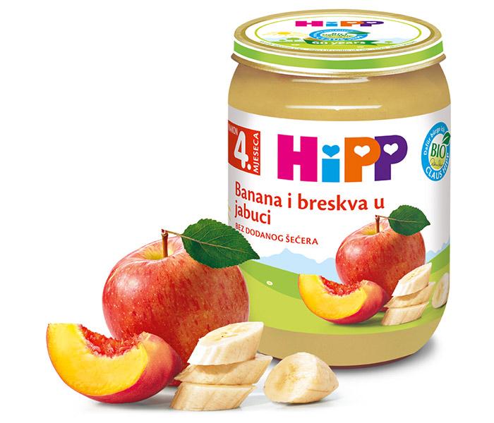 Kašica voćna - banana/breskva u jabuci 190g
