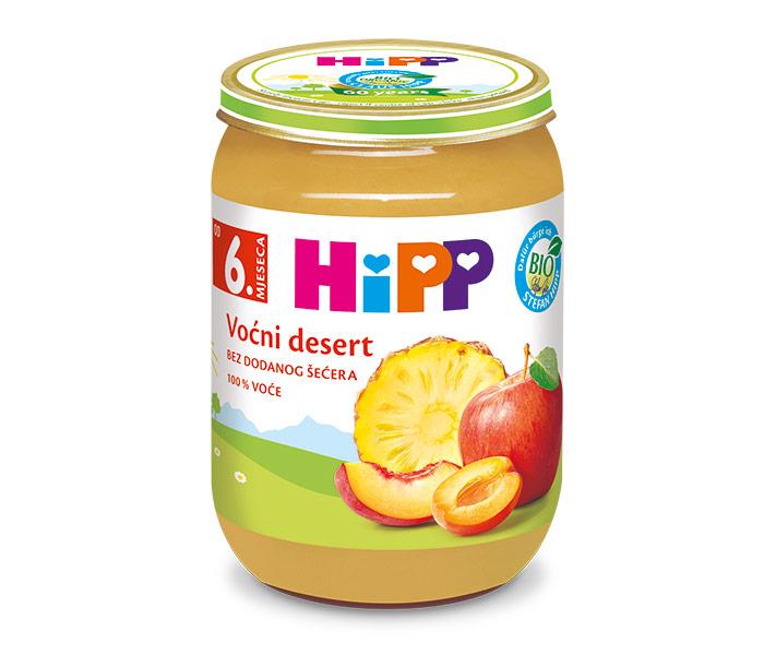 Kašica voćna - voćni dezert 190gr